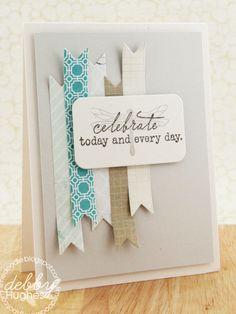 Gorgeous card by Debby Hughes