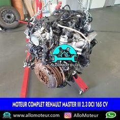 Moteur complet Renault Master III 2.3 dCi 165 cv 🔵80.000 Kms certifiés 🔵Compatible : - Opel Movano B - Nissan NV400 - Vauxhall Movano B 🔵Référence moteur M9T 🔵Année 2019 ( depuis 2010 ) 🔵Livré complet sans boîte de vitesses 🔵Garantie 6 mois