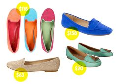"""never thought i was a """"loafer"""" girl, until they made them COLORFUL!"""