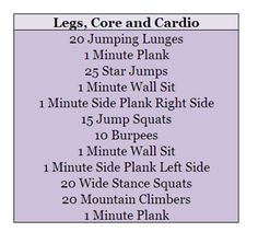 I'm always looking for workouts I can do at home that are fast and require no equipment!