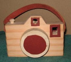 Toy Wooden Camera by cattoy4 on Etsy