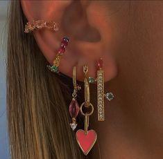 Ear Jewelry, Cute Jewelry, Jewelery, Jewelry Accessories, Hippie Jewelry, Trendy Jewelry, Gold Jewellery, Women Jewelry, Fashion Jewelry