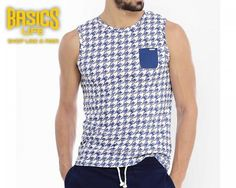 Basics Life clothing is a superb blend of unique tailoring and fashion that incorporates minimal aesthetic along with distinct youthful fervour. Basics Life has an established brand name which is seriously on trend with its unique print and texture.  Here is what you need for a party perfect masculine look. Designed for modern people, this graphic printed T-Shirt will accentuate your manly charm to a new level.