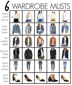 Capsule Wardrobe for Every Style - The MotherchicYou can find Wardrobe basics and more on our website.Capsule Wardrobe for Every Style - The Motherchic Capsule Wardrobe Women, Capsule Outfits, Fashion Capsule, Mode Outfits, Fashion Outfits, Wardrobe Ideas, Work Wardrobe Essentials, Fashion Edgy, Fall Fashion