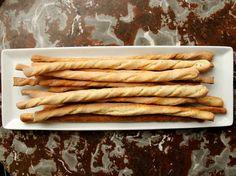Crunchy Garlic and Herb Bread Sticks