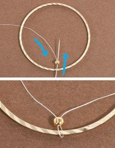 Brick Stitch Inside Metal Rings for Hoop Earrings, . Brick Stitch Inside Metal Rings for Hoop Earrings, Seed Bead Earrings, Beaded Earrings, Beaded Jewelry, Handmade Jewelry, Hoop Earrings, Silver Earrings, Quilling Earrings, Gothic Jewelry, Jewelry Necklaces