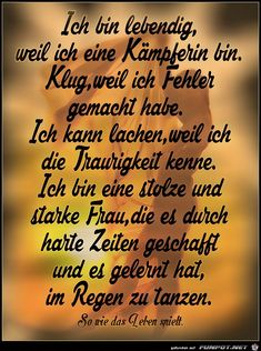 Wedding Tutorial and Ideas German Quotes, True Words, Tutorial, Quotations, Affirmations, Texts, Lyrics, Wisdom, Thoughts