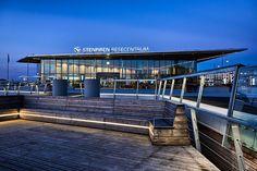 Knutpunkt Skeppsbron utgör navet i den kommande bytespunkten på Skeppsbrokajen. Swecos arkitekter har arbetat med uppdraget.