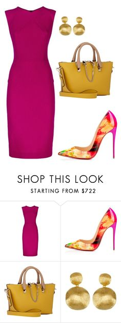 """""""style theory by Helia"""" by heliaamado on Polyvore featuring moda, Roland Mouret, Chloé e Marco Bicego"""