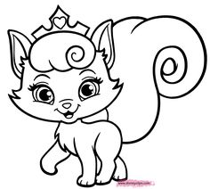 palace pets coloring pages - Google-søgning