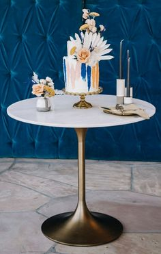 Wedding Cake inspiration Pantone Blue, Wedding Cake Inspiration, Wedding Cakes, Dining Table, Furniture, Home Decor, Wedding Gown Cakes, Homemade Home Decor, Diner Table