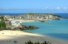 Porthminter Beach in St Ives, Cornwall, almost a tropical feel.