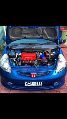 My wife's VTiS Jazz all engine work done by me