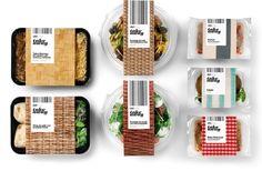 """DELISHOP-TAKE AWAY  Diseño de packaging y de la comunicación alrededor del concepto """"Urban Picnic"""" para los platos preparados Take Away de Delishop, destinados a un consumidor obligada a comer fuera de casa. Por Enric Aguilera. http://graffica.info"""