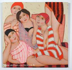Après le bain | Cécile Veilhan