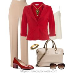 Back to the Office by fiftynotfrumpy on Polyvore