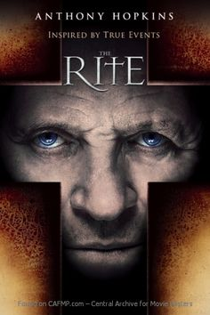 New Movie Poster The Rite See the full and large #MoviePoster on #CAFMP - The Central Archive for Movie Posters