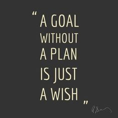 Once you've made your mind up. You have no excuse not to plan for the future