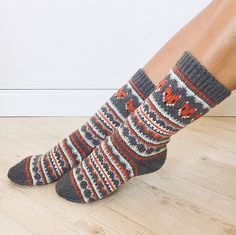 Ravelry: Fox Isle Socks pattern by Life Is Cozy