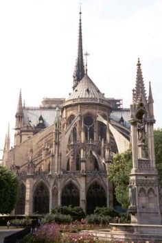 Notre Dame from behind. Majestic and awe inspiring Cathedrals for the glory of God. http://www.PaulFDavis.com/spiritual-teacher for God's glory, honor, power, love and wisdom to work miracles, signs and wonders in the earth. (info@PaulFDavis.com) author of 'Supernatural Fire', 'Waves of God,' 'God vs. Religion,' and 'Breakthrough For A Broken Heart.' www.Facebook.com/speakers4inspiration www.Twitter.com/PaulFDavis www.Linkedin.com/in/worldproperties