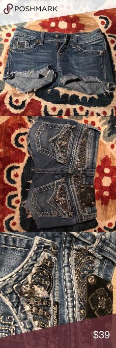Miss Me Shorts Miss Me jeans! Size 23. Great condition, simply selling because they are too small. Really a cute pair of summer shorts! Miss Me Jeans Skinny