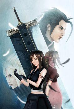 Final Fantasy Tribute by MercurialXen
