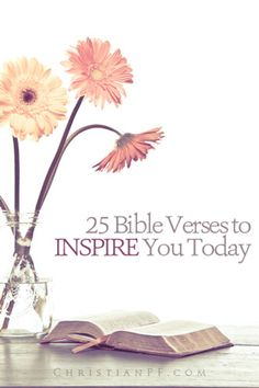 25 Bible verses to Inspire you today.I personally really benefit from soaking… Positive Quotes For Life Happiness, Life Quotes Love, Fit Quotes, Christian Life, Christian Quotes, Christian Living, Christian Women, Bible Scriptures, Bible Quotes