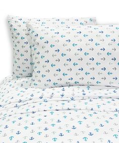 Look at this Anchors Away Sheet Set on #zulily today!
