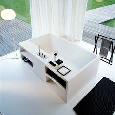 Cartesio Freestanding Bathtub by Agape