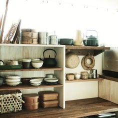 makoroさんの、生活感,キッチン収納,ブログUP完了,模様替え,DIY,キッチン,キッチン,のお部屋写真