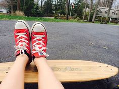 Long board and converse