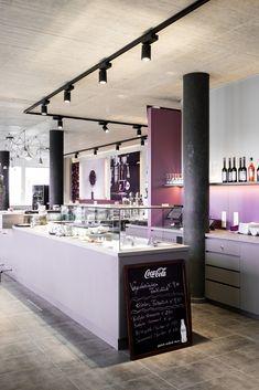 sky & sun café - Möbelbau Breitenthaler, Tischlerei Sun Cafe, Vanity, Mirror, Furniture, Home Decor, Carpentry, Projects, Dressing Tables, Powder Room
