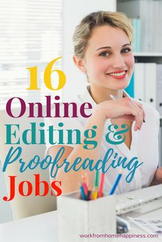 Help make good writing great as an online editor or proofreader. This is a flexible work from home opportunity offering plenty of work and different projects to choose from. work from home jobs, working from home Earn Money From Home, Make Money Fast, Earn Money Online, Make Money Blogging, Online Jobs, Online Help, Money Tips, Money Today, Earning Money
