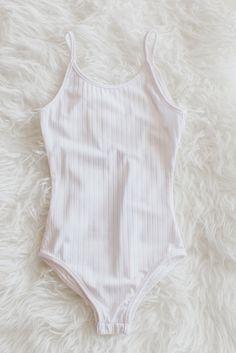 Ribbed Knit Bodysuit – Love Street