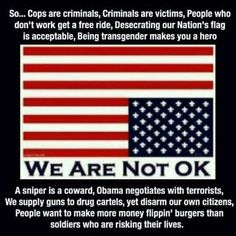 Wake up America! Thats The Way, That Way, Just For You, Liberal Logic, Out Of Touch, Thing 1, God Bless America, We The People, Common People