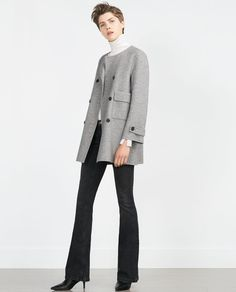HAND MADE COAT-Outerwear-WOMAN | ZARA United States