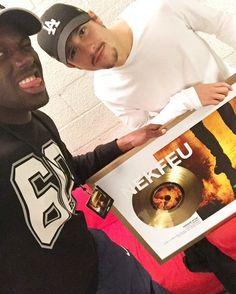 Nekfeu, disque d'or en Belgique !