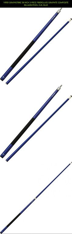 Viper Graphstrike 58 inch 2-Piece Fiberglass Graphite Composite Billiard/Pool Cue, Blue #fpv #stick #gadgets #kit #camera #pools #parts #products #shopping #plans #tech #drone #technology #racing