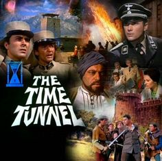 The Time Tunnel---James Darren and Robert Colbert Christopher Eccleston, Great Tv Shows, Old Tv Shows, Classic Series, Classic Tv, Movie Photo, Movie Tv, The Time Tunnel, James Darren