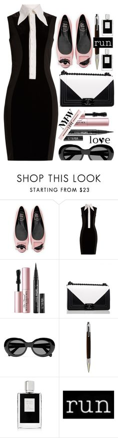 """""""So many shades in between"""" by sunnydays4everkh ❤ liked on Polyvore featuring Roger Vivier, Givenchy, Too Faced Cosmetics, Chanel, Acne Studios, Kilian and Seletti"""