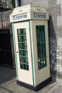 Drogheda - Old Phone Kiosk