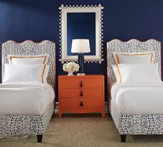 Colorful bedroom idea for teen or preteen photo from Oomph