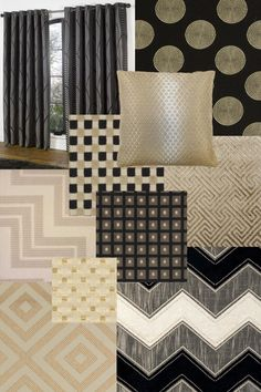 Art deco inspired UK Curtains and Interiors Fabrics