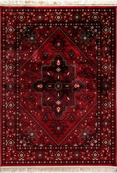 Dynamic Rugs Crown 16226 x Red Area Rug Red Oriental Rug, Dynamic Rugs, Bedroom Red, Master Bedroom, Red Rugs, Red Area Rugs, Traditional Rugs, Traditional Interior, Rugs In Living Room