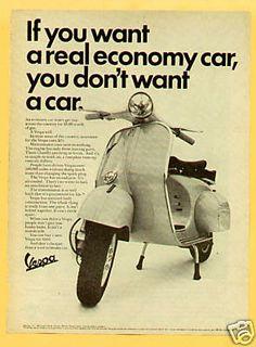 Environmentally economical too! #ridecolorfully