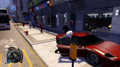 Ghost Pig gets into the Lexus LFA and Ferrari F430 (Tuono) in Sleeping Dogs