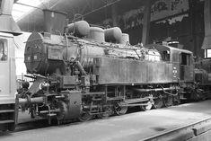 am April 2013 im Heizhaus Strasshof. Old Steam Train, Trains, Engine, Europe, Locomotive, Destinations, Metal, Vehicles, World