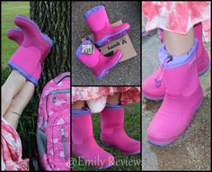 Kamik ~ Boots For Back To School Stormin' and Bluster, all weather, rain, snow, 3 season boots, review