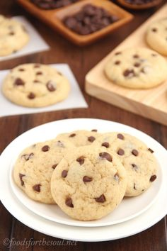 The Ultimate Healthy Soft and Chewy Chocolate Chip Cookies