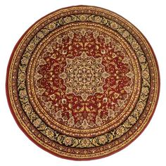 Isfahan Red Round
